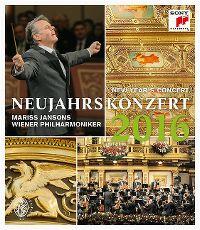 Cover Mariss Jansons / Wiener Philharmoniker - Neujahrskonzert 2016 - New Year's Concert [DVD]